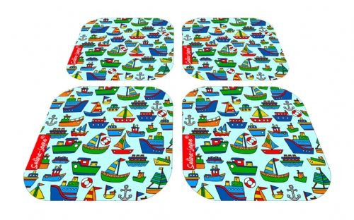 Selina-Jayne Boats Limited Edition Designer Coaster Gift Set